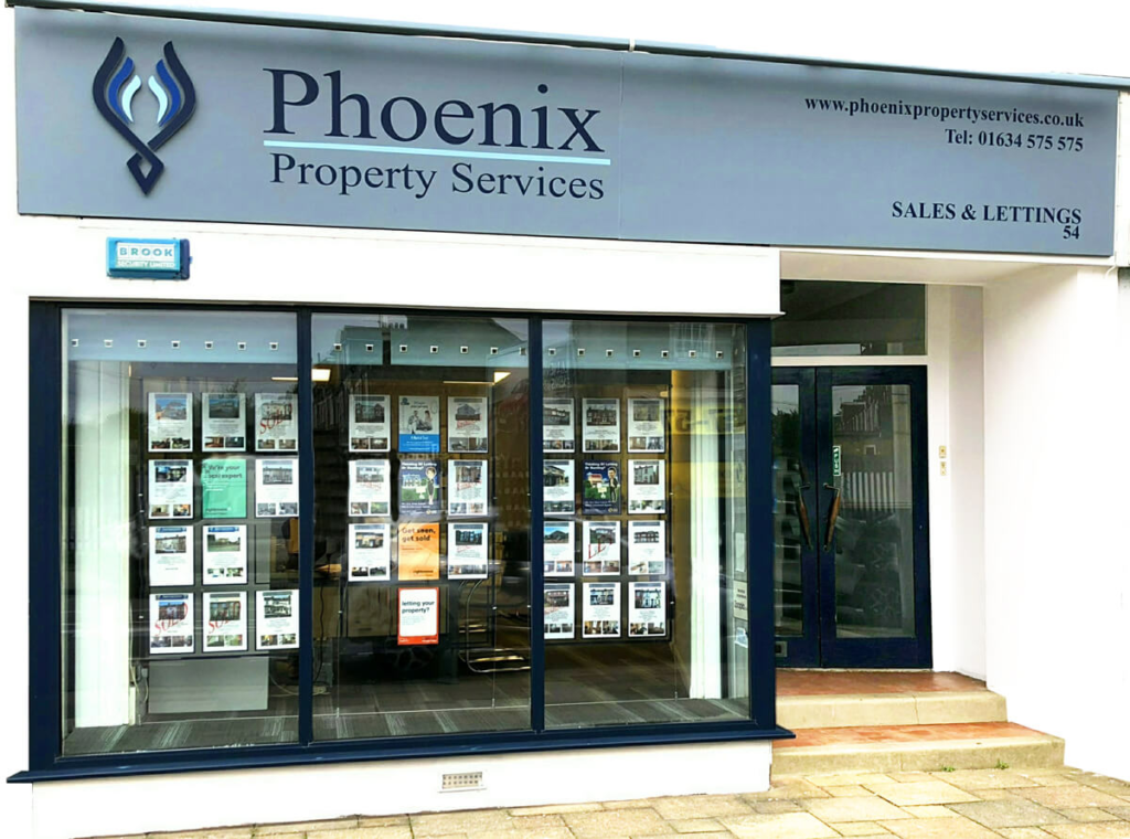 Phoenix Property Services Shop Storefront